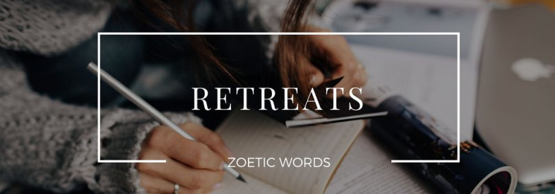 zoetic words retreats