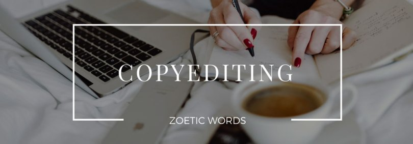 zoetic words service copyediting