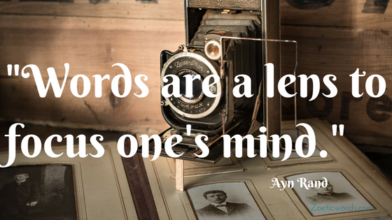 Words are a lens