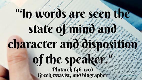 In words the speaker