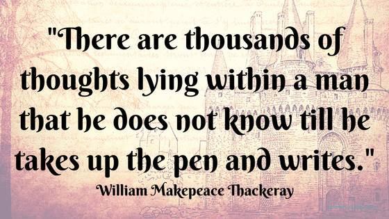 Take the pen and write